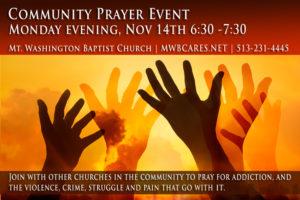 Community Prayer Promo